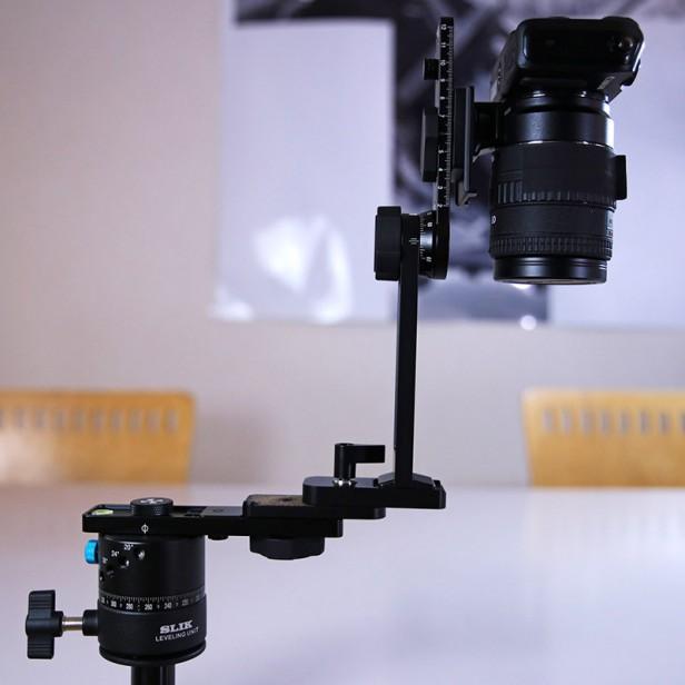 SLIK Leveling unit + Rotator RD8 + Nodal Ninja 3 MKII