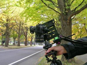 真下のショットの撮影方法