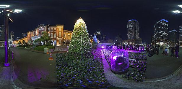 クリスマスイブの東京