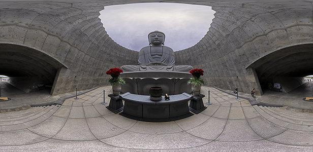 滝野霊園 頭大仏殿