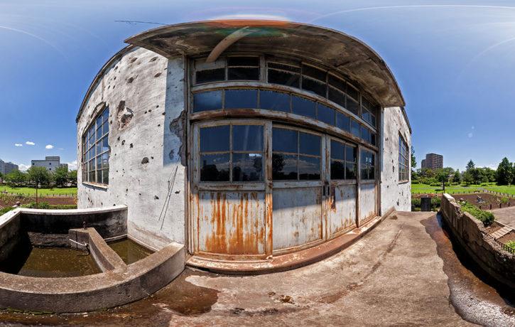 旧日立航空機変電所