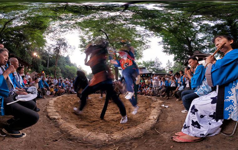 穴澤天神社大祭