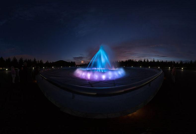 海の噴水 - モエレ沼公園