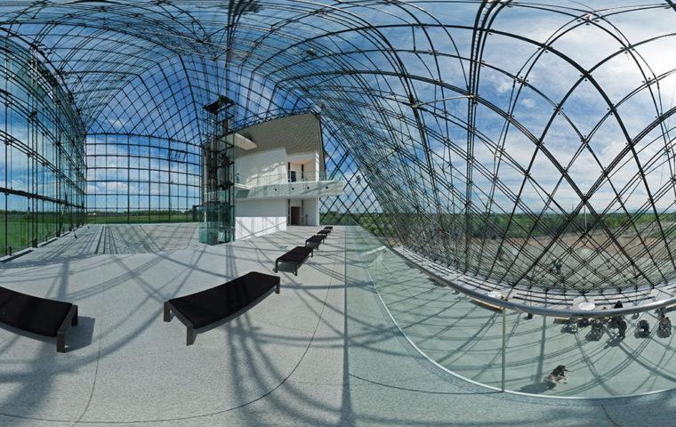 ガラスのピラミッド(HIDAMARI) - モエレ沼公園